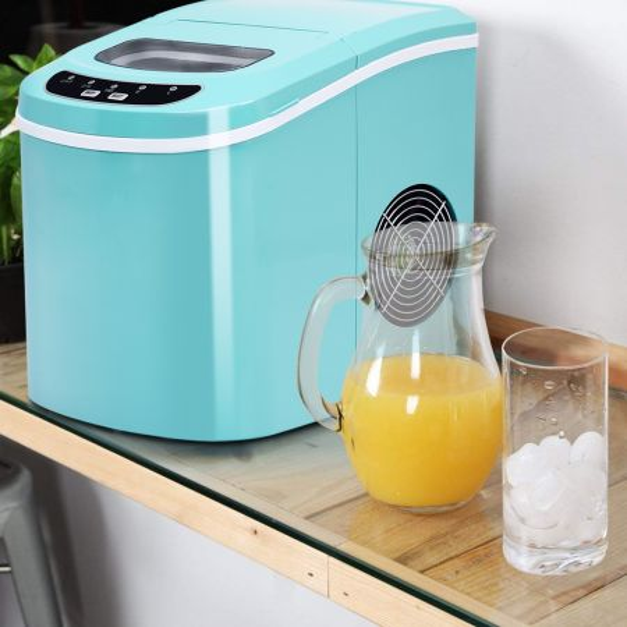 Máquina eléctrica de hacer hielo para cocina o bar
